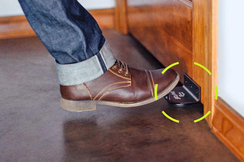 Hygienic Handsfree Door Openers Foot Door Handle