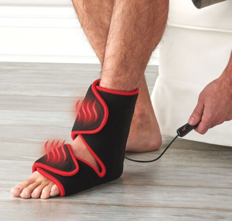Pain-Alleviating Infrared Foot Treatments