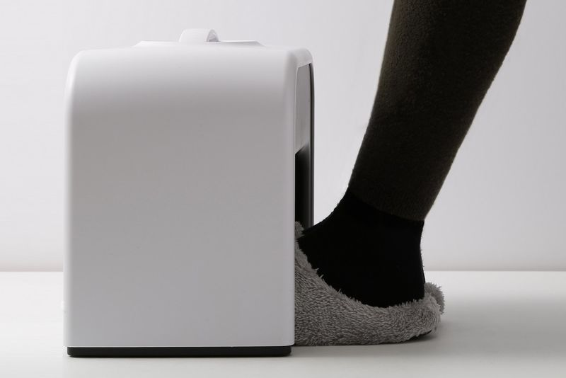 Foot-Warming Office Appliances