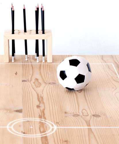 Soccer Goalie Tables