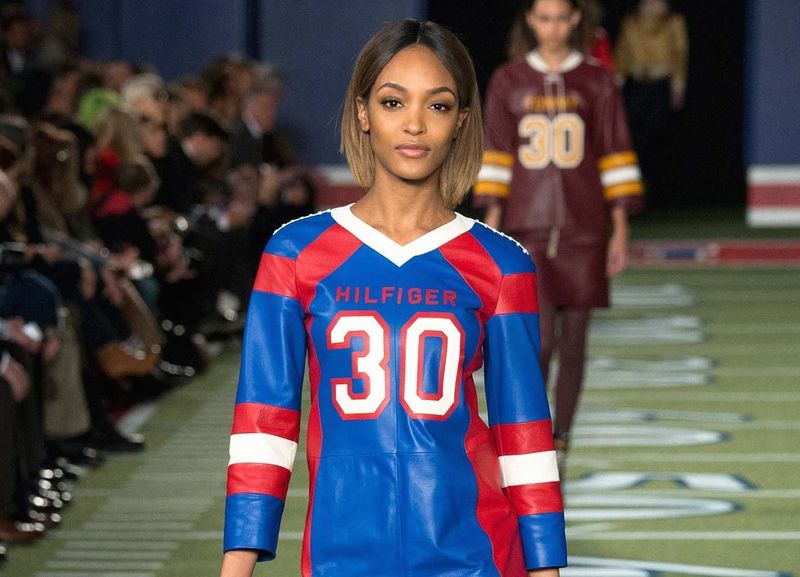 Feminine Football Jersey Fashion
