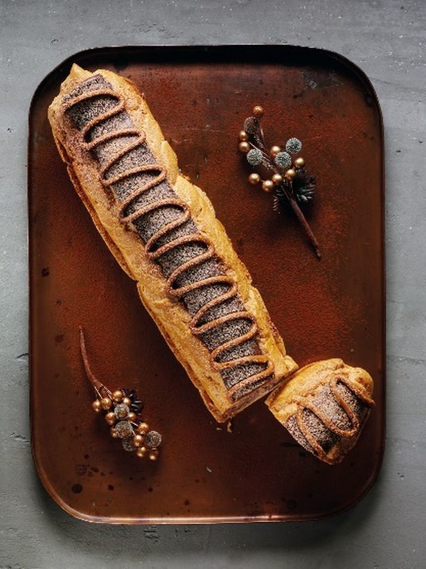 Foot-Long Chocolate Eclairs