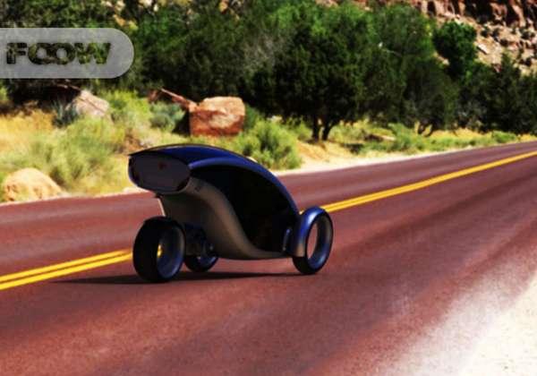 Fold-Up Pod Cars