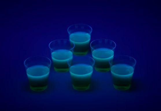 Luminous Gelatin Shooters