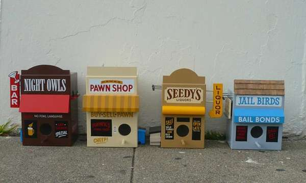 Small Town Birdhouses