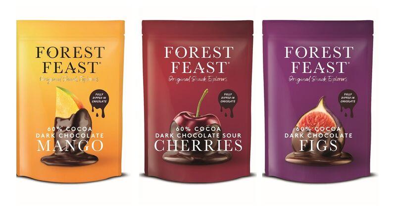 Vegan Chocolate-Covered Fruit Snacks