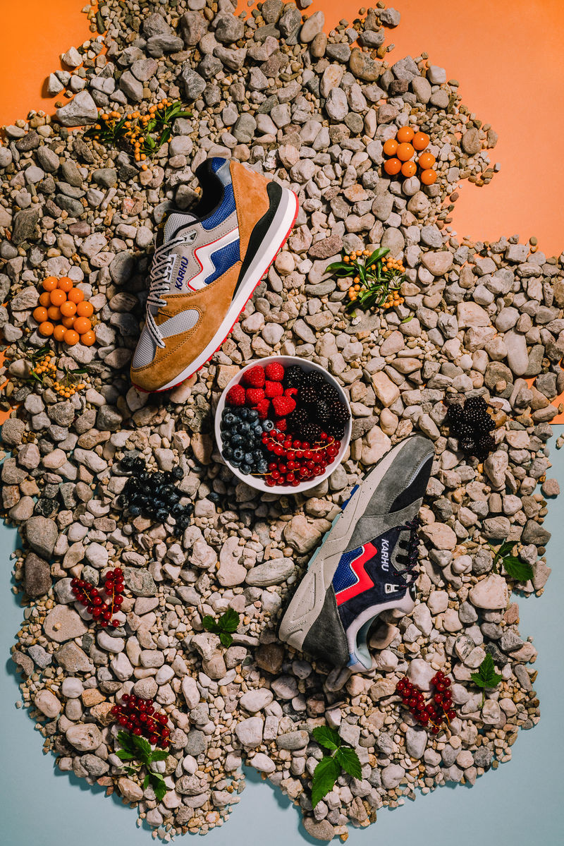 Berry-Inspired Sneakers
