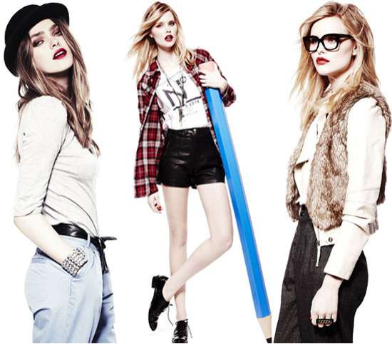 Hipster Schoolgirl Fashion