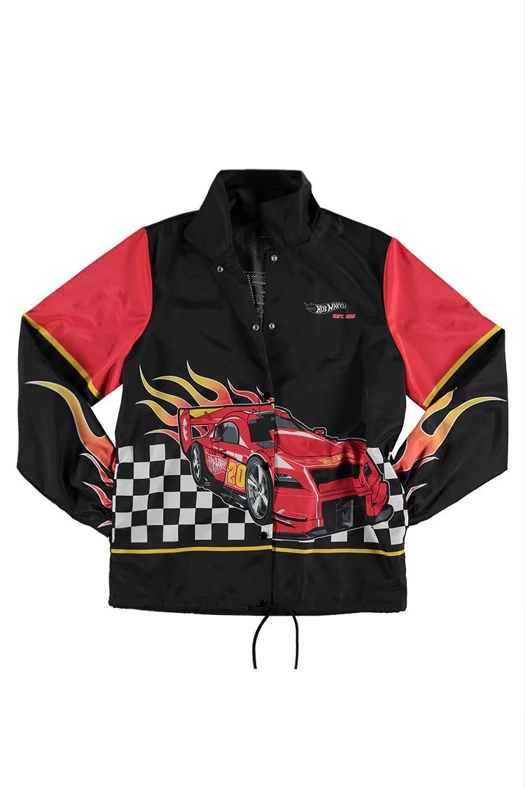 Iconic Toy Inspired Jackets Forever 21 Hot Wheels
