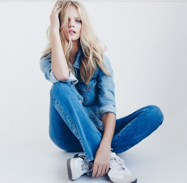 Denim-Focused Fashion Ads