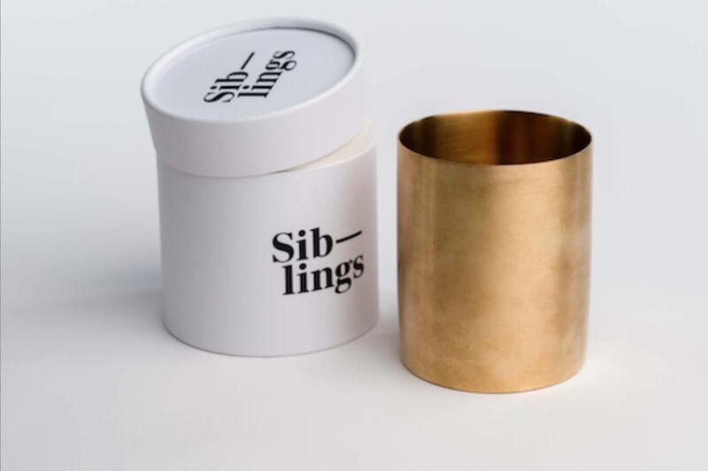 DIY Brass Candle Sets