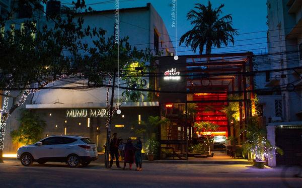 Converted Jungle-Like Cafes