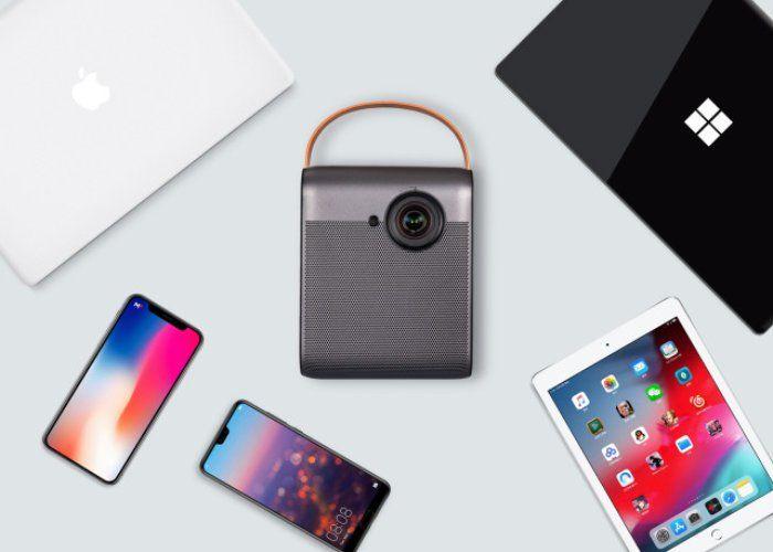 Omni-Compatible Portable Projectors