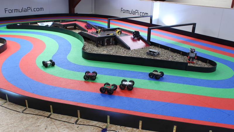 Self-Driving Racer Robots