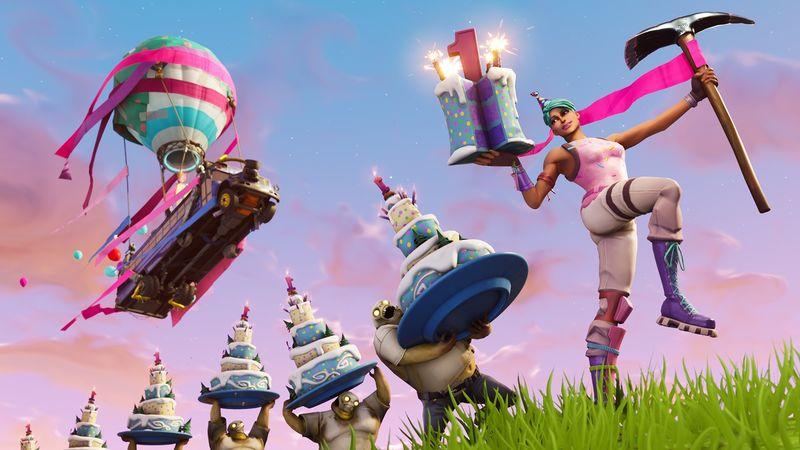Celebratory In-Game Items