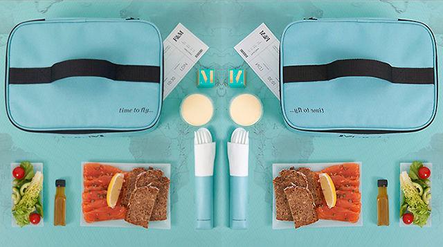 Gourmet Airplane Food Hampers