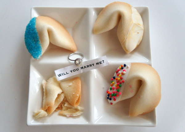 DIY Fortune Cookie Proposals