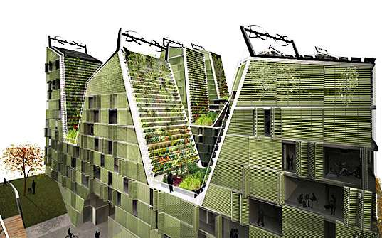 Hilly Eco City Blocks