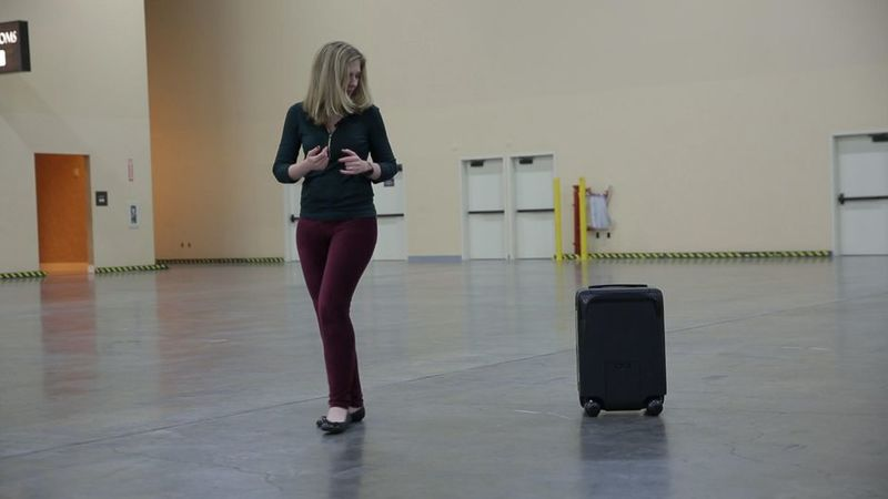 Intelligent Self-Driving Suitcases