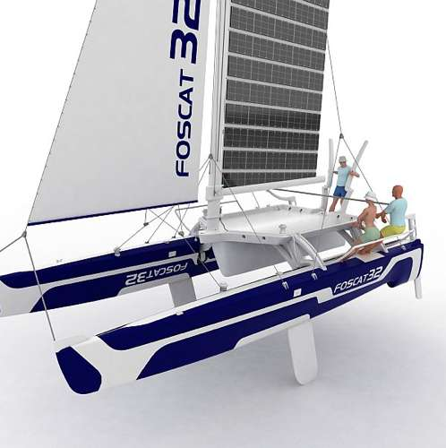Solar-Powered Sailboats