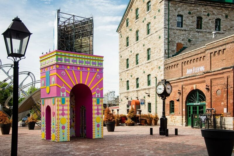 Giant Artful Pavilion Installations