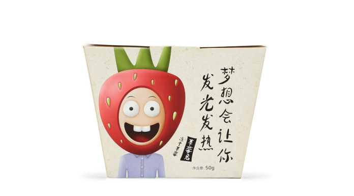 Personified Fruit Packaging
