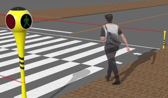 Solar-Powered Quad Crosswalks