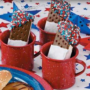 Patriotic Ice Cream Desserts