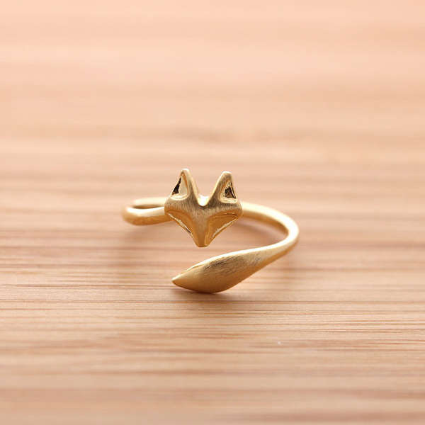 Woodland Creature Rings