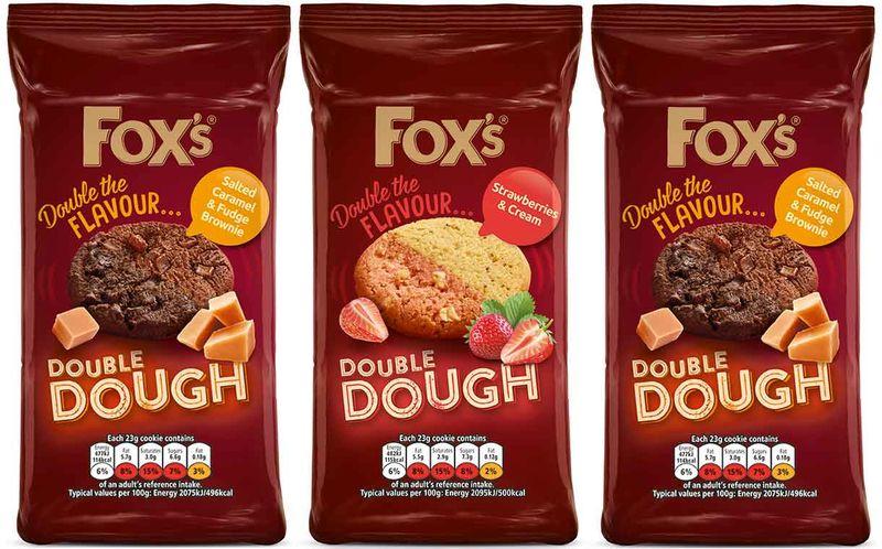 Indulgent Double Flavor Cookies Fox S Biscuits Double Dough