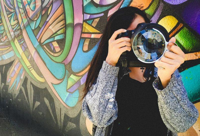 Kaleidoscopic Camera Filters