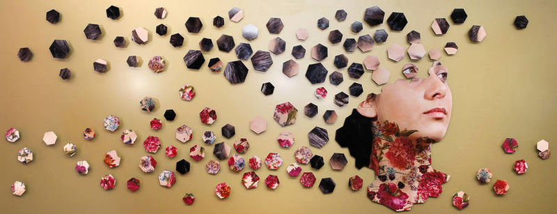 Fragmented Portrait Installations
