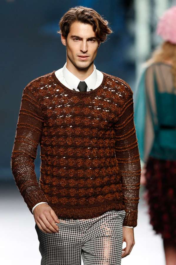 Crocheted Couture Menswear