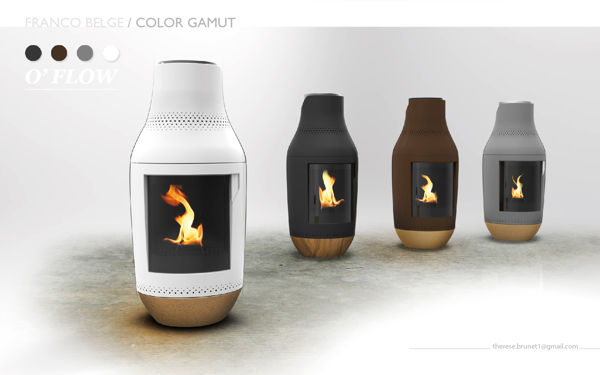 Congreenient Contemporary Hearths Franco Belge Pellet Stove