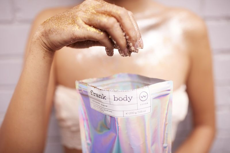 Shimmering Body Scrubs
