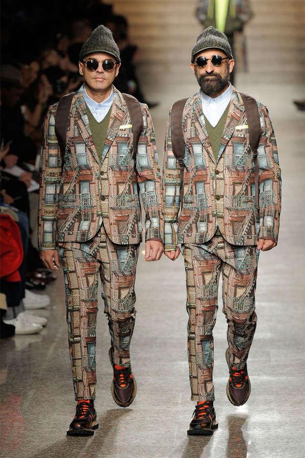 Architecture-Inspired Menswear