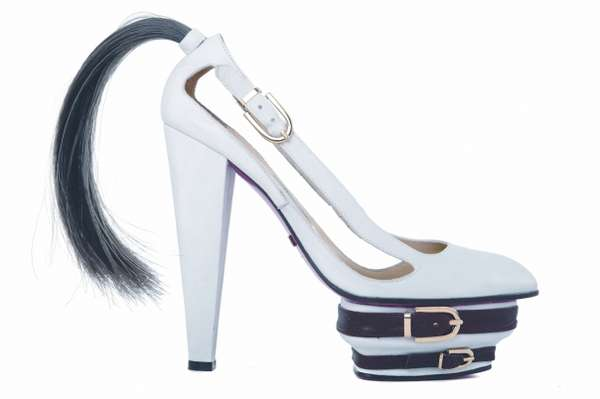 Ponytail Platform Heels