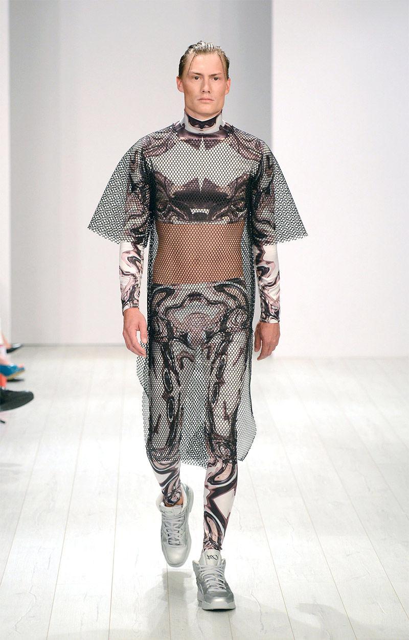 Flamboyant Sci-Fi Streetwear