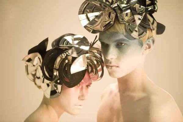 Futuristic Origami Accessories