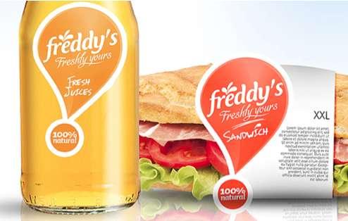 Exclamatory Sandwich Branding