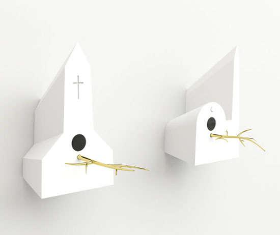 Religious Building Birdhouses