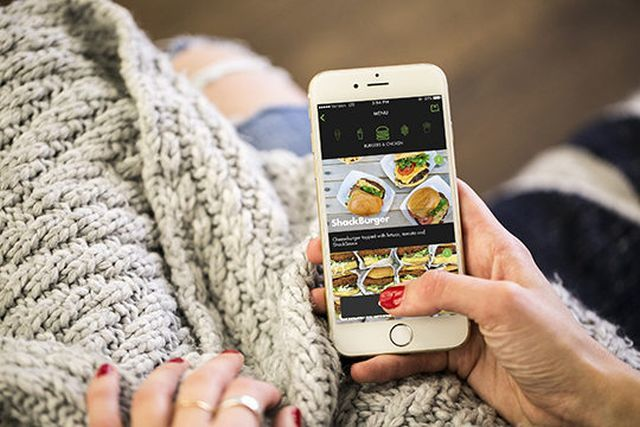 Complimentary Burger App Promotions