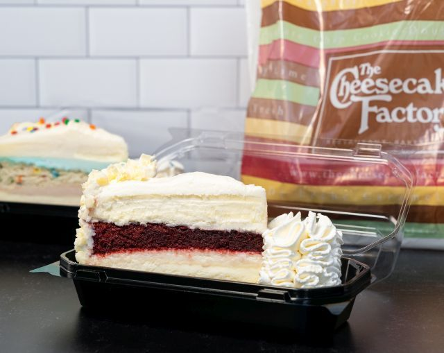 Complimentary Lunchtime Cheesecake Promotions