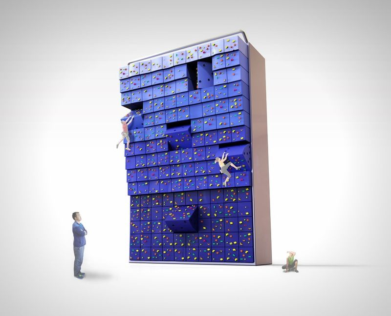 Adjustable Climbing Walls