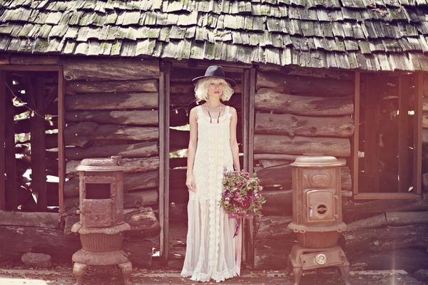 Bohemian Bridal Lookbooks