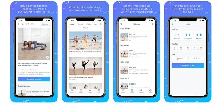 Free Workout App Releases