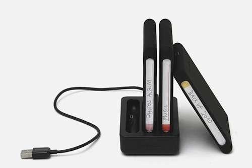 Cassette-Inspired Hard Drives