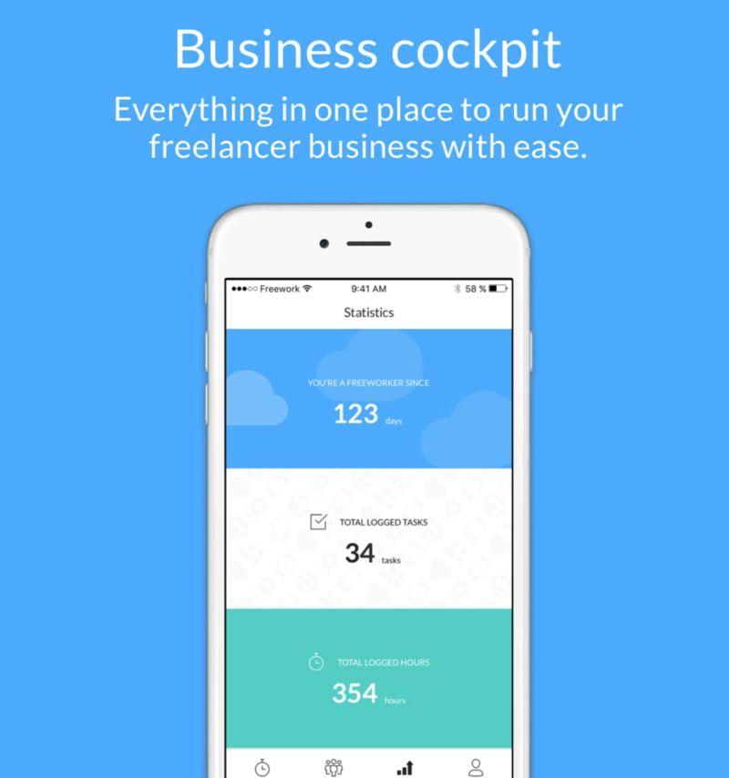 Data-Tracking Freelancer Apps