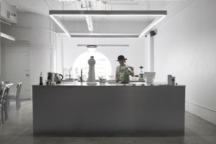 Aluminum Cafe Pop-Ups