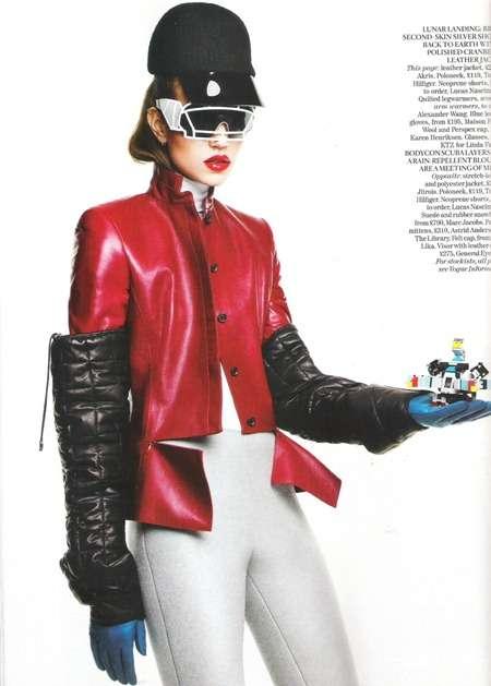 Futuristic Femme Fatale Editorials